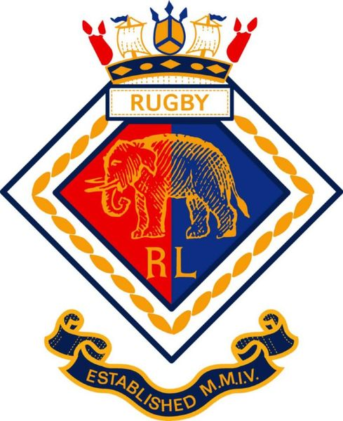 Rob Howell-Elephant Crest on Felt for RUGBY