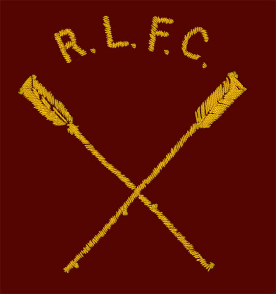 Rob Howell- R.L.F.C. CREW OARS - Direct Embroidery for RUGBY