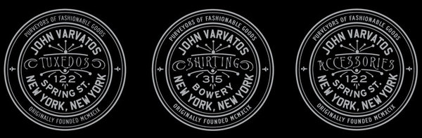 Rob Howell-Stamp Proposals for John Varvatos