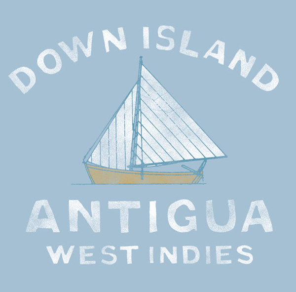 ROB HOWELL- Antigua Sloop Children's Tee - HIHO