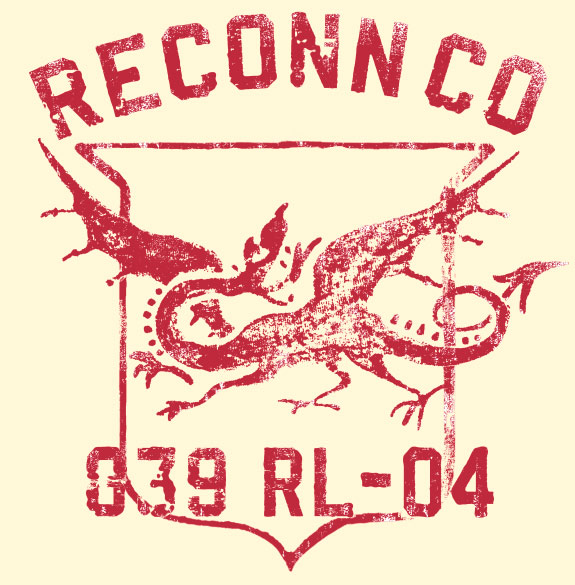 RECONN CO. - Hand Painted Tee Shirt Graphic for RUGBY