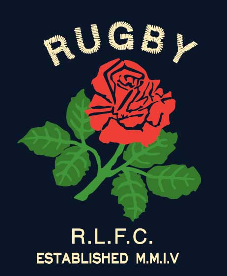 Rob Howell-RUGBY Rose Direct Embroidery for RUGBY