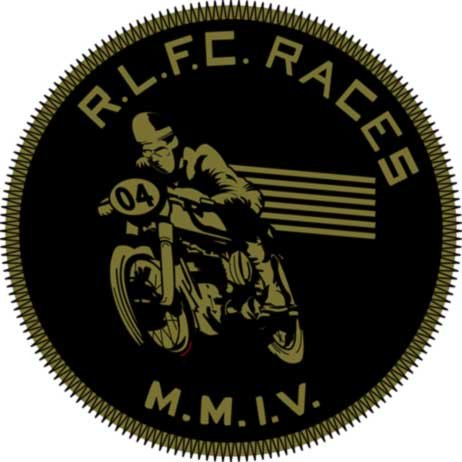 R.L.F.C. RACES MOTO - Embroidered Patch for RUGBY