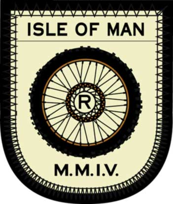 Rob Howell-ISLE OF MAN MOTO - Embroidered Patch for RUGBY