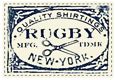 Wovens Shirt Label for RUGBY