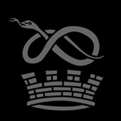 Snake and Crown Monogram for RUGBY