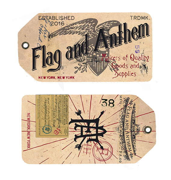 ROB HOWELL-FLAG AND ANTHEM MAIN HANGTAG