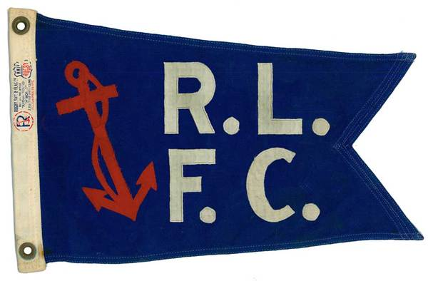 Rob Howell-Ralph Lauren Football Club Flag for RUGBY