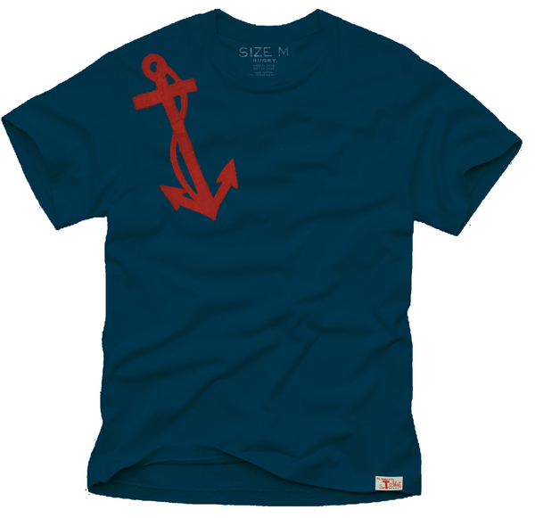 Anchor Applique Tee for Rugby Ralph Lauren by Rob Howell