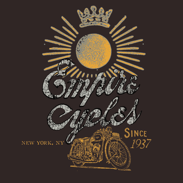 ROB HOWELL- Empire Cycles Graphic Tee Proposal for ONASSIS