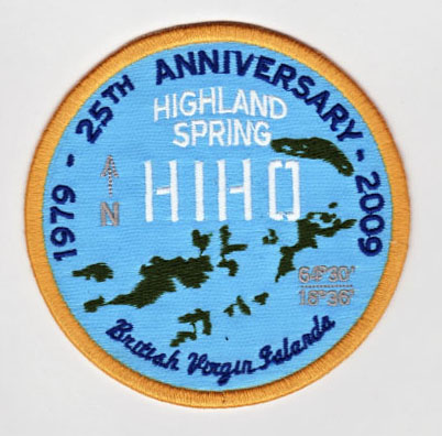 ROB HOWELL- HIHO 25th Anniversary Patch