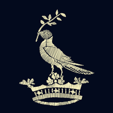 Rob Howell-Bird and Crown-Direct Embroidery for Sweater for RUGBY