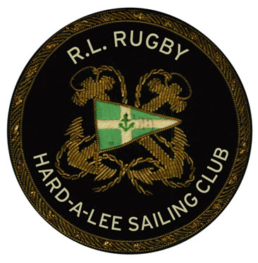 Rob Howell-Embroidered and Bullion Patch on Felt for RUGBY